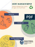 Solid Waste Management Report 1