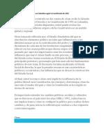 Cuál Es El Tipo de Gobierno en Colombia Según La Constitución de 1991