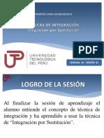 Técnicas de integración - Integración por sustitución.pptx
