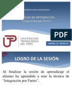Técnicas de integración - Integración por partes.pptx