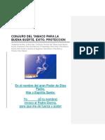 CONJURO DEL TABACO PARA LA BUENA SUERTE.docx