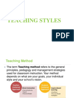 Teaching Styles 2