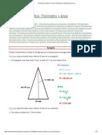 Fórmula Para Obtener El Área Del Trapecio _ Matematicas Para Ti