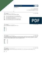 Cel0530 - Teoria Dos Números Av1 Simulado 1