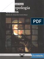 Immanuel Kant - Antropología Collins