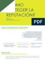GESTIÓN DE REPUTACIÓN CORPORATIVA