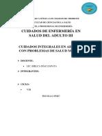 Salud Mental Universidad Católica Los Ángeles de Chimbote