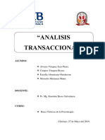 Final Informe Analisis Transacional