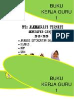 Sampul Buku Kerjaa Kuarto
