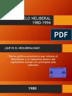 El Modelo Neliberal