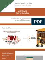 ArchiCAD_Semana 1 y 2_Introducción - Entorno de Trabajo
