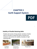 (E)Chapter 3 - Earth Support System