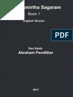Abraham Pandither Karunamirtha Sagaram Book 1 English
