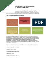 Tecnicas e Instrumentos de Evaluacion