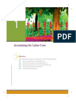 Accounting for Labor Cost