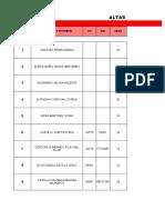 Informe de Altas 2019