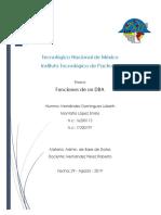 Funciones y actividaes de un Administrador de Bases de Datos.docx