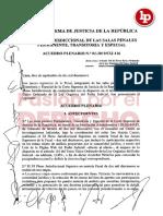 XI Acuerdo Plenario