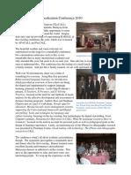Glocall 2010 Report