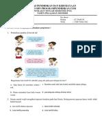 Soal Pts Kls 2 Tema 2 Bagian 2