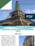 Unidad v Metales Aleaciones en Ingenieria Civil PDF