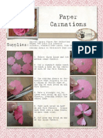 Paper Carnations Tutorial