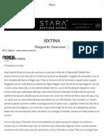 SIXTINA _ Nexos