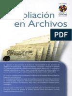 Foliación en Archivos