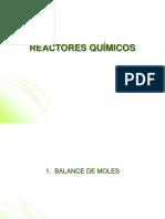 Reactores Químicos 1