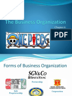 06 the Business Organization