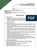 [DC,SG] Segurança Do Trabalho (Concomitante) 2009 PE 13 Química Aplicada