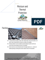 Moisture and Thermal Protection