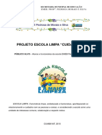 projeto escola limpa