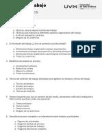 Cuestionario Estudio Del Trabajo