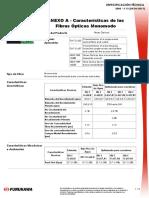 ET2000-13.0-ANEXO a - Características de Las Fibras Ópticas Monomodo