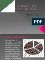 Presentation on Market Segmentation