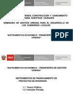 Instrumentos Economicos Financieros 13 Agosto Ayacucho