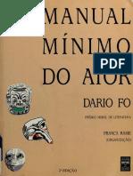 Dario Fo - Manual Mínimo Do Ator