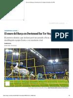 El Muro Del Barça en Dortmund Fue Ter Stegen _ Deportes _ EL PAÍS