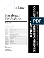 Paralegal study guide