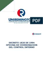 Decreto 1826 de 1994