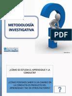 metodología investigativa