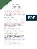 True Blood Ties Sound Script