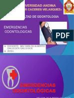 Emergencias Odontologicas