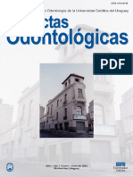 Actas Odontologicas. Vol. 01 Num. 1 (2004) - Facultad de Odontologia (Editor)