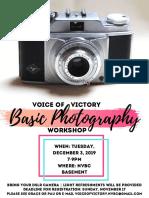 VoV Photography Workshop-2