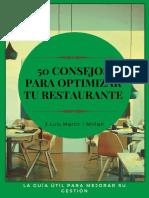 50 consejos para optimizar tu restaurante - J. Luis Martir Millan.pdf