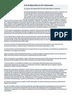 Acta de Independecia de Guatemala