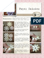 Paper Daisies Tutorial