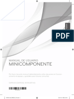 Manual de Usuario Mini Componente - CM9530